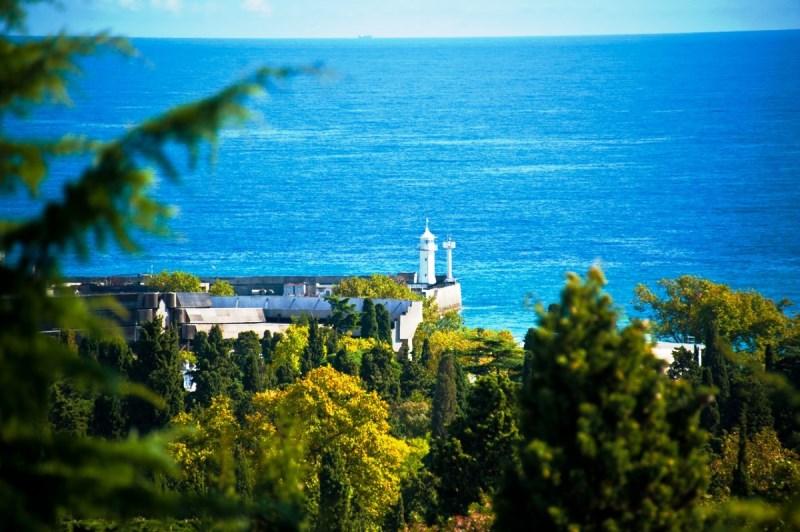 Фото санатория имени кирова со стороны моря